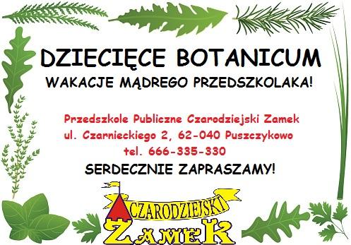 Dziecięce Botanicum
