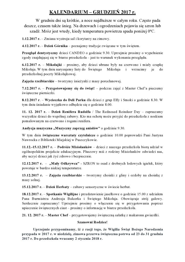 KALENDARIUM GRUDZIEŃ 2017 r-page0001