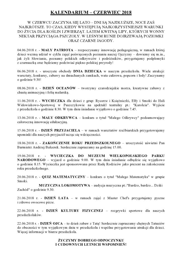 Kalendarium Czerwiec 2018-page0001
